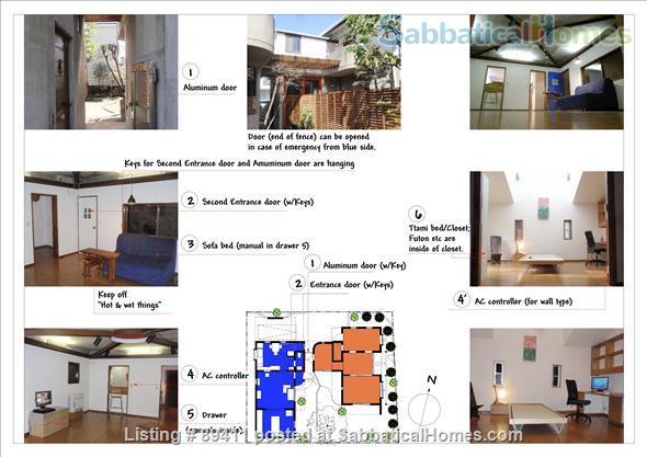 Garden House Tokyo-area Home Rental in Ichikawa, Chiba Prefecture, Japan 0