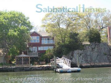 Waterfront Spectacular 3 Bedroom Home With Dock! Minutes to Yale New Haven, SCSU, Quinnipiac Home Rental in East Haven, Connecticut, United States 1