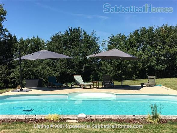 PERFECT PEACE AND QUIET IN THE FRENCH COUNTRYSIDE Home Exchange in Journet, Nouvelle-Aquitaine, France 5