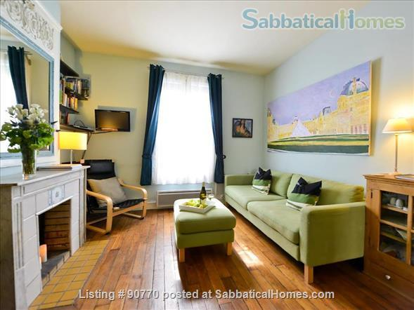 Artistic Green & Healthy 1 Bedroom in Vibrant Bastille Area; Paris Registration #7511101057478 Home Rental in Paris 1 - thumbnail