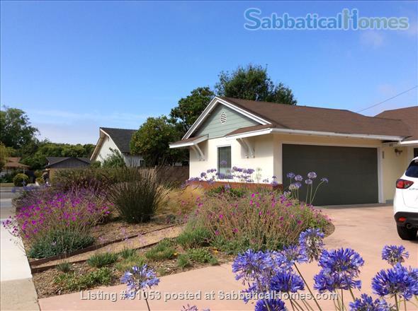 Delightful mid-mod 3BR 2BA house near UCSB Home Rental in Santa Barbara, California, United States 1