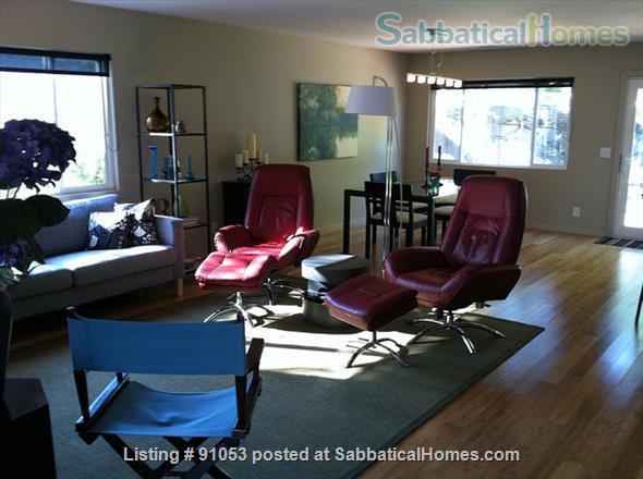 Delightful mid-mod 3BR 2BA house near UCSB Home Rental in Santa Barbara, California, United States 2