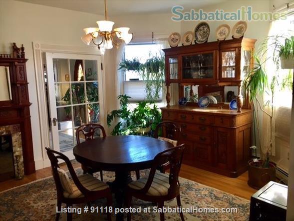 Excellent location, unique condo in historic Victorian Home Rental in Cambridge, Massachusetts, United States 3