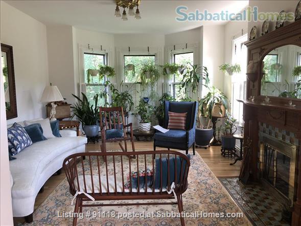 Excellent location, unique condo in historic Victorian Home Rental in Cambridge, Massachusetts, United States 5