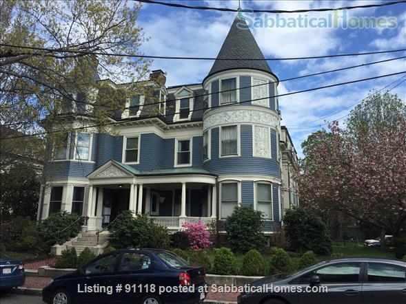 Excellent location, unique condo in historic Victorian Home Rental in Cambridge, Massachusetts, United States 1