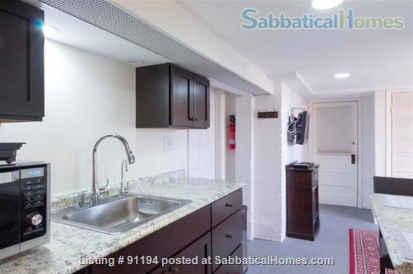 English Basement on the Orange/Blue/Silver Metro w/ Utilities Home Rental in Washington, District of Columbia, United States 1