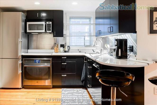 Cambridge Urban Oasis Fully Furnished Apartment (1BR) near M.I.T. & Harvard Home Rental in Cambridge, Massachusetts, United States 3