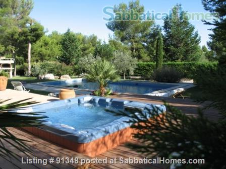Very nice property, 4km d'Aix en Provence  Home Rental in Saint-Marc-Jaumegarde, Provence-Alpes-Côte d'Azur, France 3