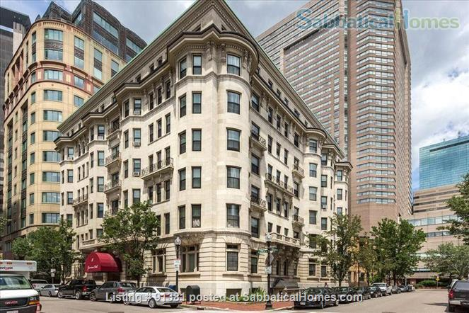 Furnished Large Studio with separate Eat-In-Kitchen in a Historic Building in Boston's Back Bay-South End Home Rental in Boston, Massachusetts, United States 9