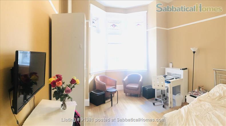 Furnished Large Studio with separate Eat-In-Kitchen in a Historic Building in Boston's Back Bay-South End Home Rental in Boston, Massachusetts, United States 1
