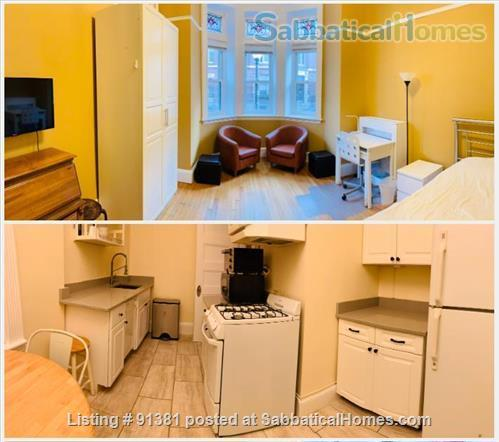 Furnished Large Studio with separate Eat-In-Kitchen in a Historic Building in Boston's Back Bay-South End Home Rental in Boston, Massachusetts, United States 0