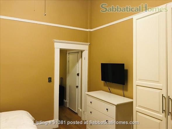 Furnished Large Studio with separate Eat-In-Kitchen in a Historic Building in Boston's Back Bay-South End Home Rental in Boston, Massachusetts, United States 2