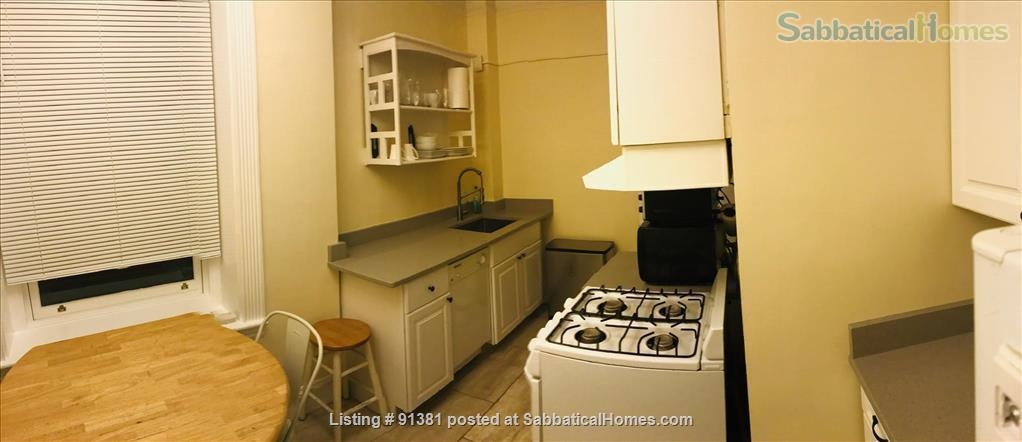 Furnished Large Studio with separate Eat-In-Kitchen in a Historic Building in Boston's Back Bay-South End Home Rental in Boston, Massachusetts, United States 3