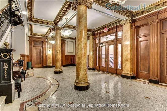 Furnished Large Studio with separate Eat-In-Kitchen in a Historic Building in Boston's Back Bay-South End Home Rental in Boston, Massachusetts, United States 8