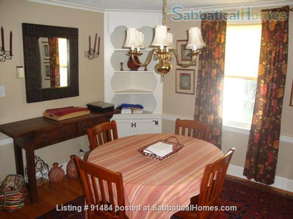 Lovely 3BR/1.5BA home. FURNISHED with UTILITIES. Great location. Home Rental in West Hartford, Connecticut, United States 0