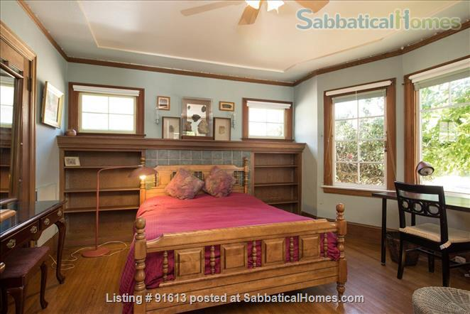 J1  Beautiful, Sunny, Furnished Room with Garden Home Rental in Berkeley, California, United States 1