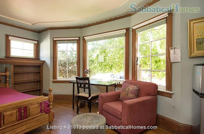 J1  Beautiful, Sunny, Furnished Room with Garden Home Rental in Berkeley, California, United States 0