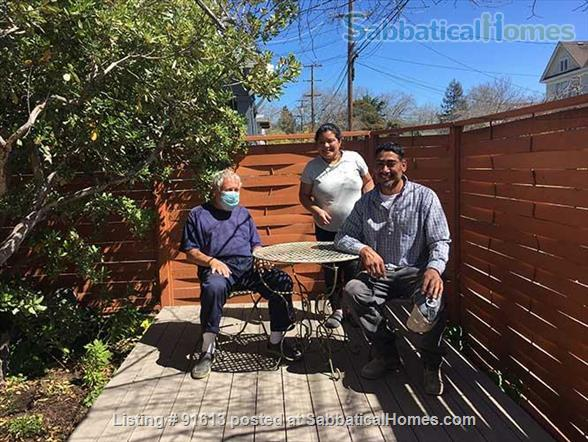 J1  Beautiful, Sunny, Furnished Room with Garden Home Rental in Berkeley, California, United States 2
