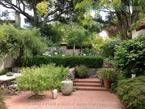 Furnished Writer's Retreat guest house  -    with Private Garden - Walk to UC Berkeley Campus.  Home Rental in Berkeley, California, United States 5