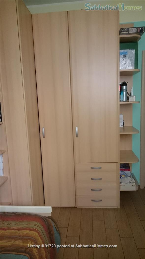 NICE APARTMENT  NEAR METRO AND BUSES ideal for students, teachers, anyone all included - Shorter stays and one room rent available - 350 € weekly Home Rental in Rome, Lazio, Italy 6