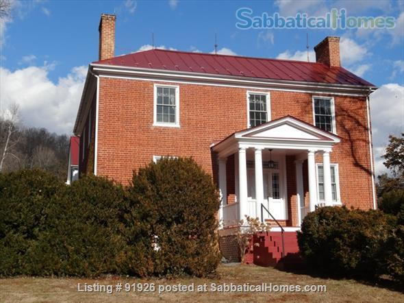Historic Country Home 20 minutes from UVA Home Rental in Faber, Virginia, United States 1
