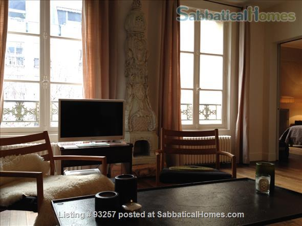 Sunny, quiet and spacious 1BD apartment near Picasso Museum Home Rental in Paris, IDF, France 0
