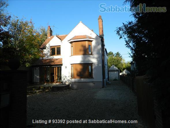 Very spacious family home close to the heart of Oxford University Home Rental in Oxford, England, United Kingdom 1