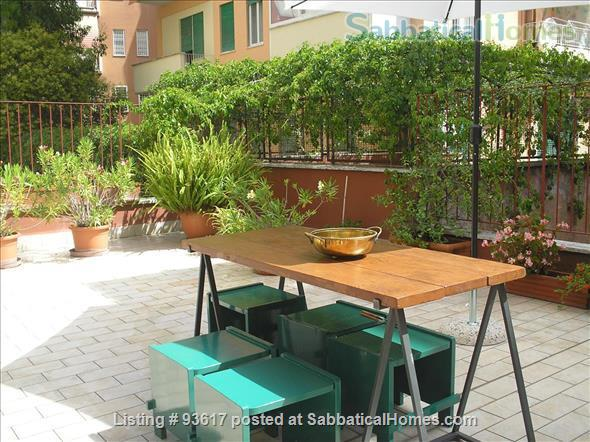 Elegantly furnished four rooms apartment on Monte Mario Hill Home Rental in Roma, Lazio, Italy 1