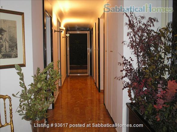 Elegantly furnished four rooms apartment on Monte Mario Hill Home Rental in Roma, Lazio, Italy 0