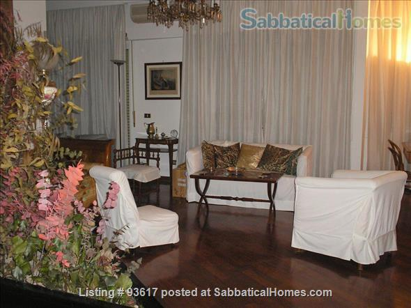 Elegantly furnished four rooms apartment on Monte Mario Hill Home Rental in Roma, Lazio, Italy 3