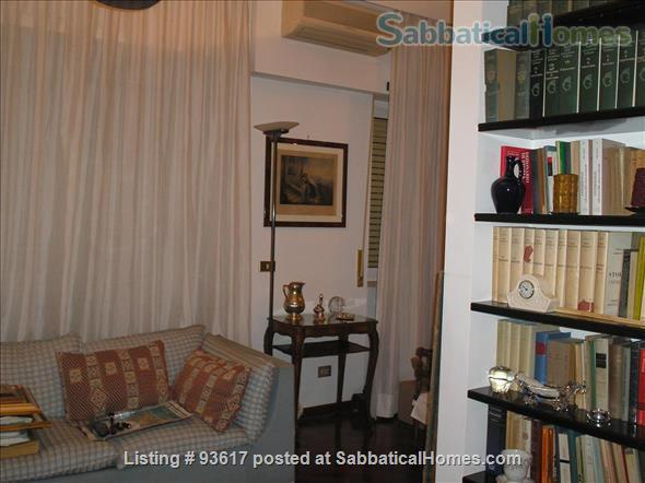 Elegantly furnished four rooms apartment on Monte Mario Hill Home Rental in Roma, Lazio, Italy 5