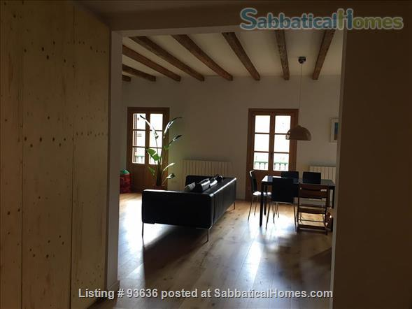 Spacious, bright, and renovated 135m2 3-Bedroom Apartment next to Arc de Triumph, Barcelona, Spain Home Rental in Barcelona, Catalunya, Spain 3