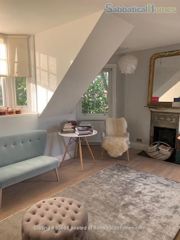Lovely top floor flat in Brooke Green close to Holland Park and Notting Hill Home Exchange in London, England, United Kingdom 1
