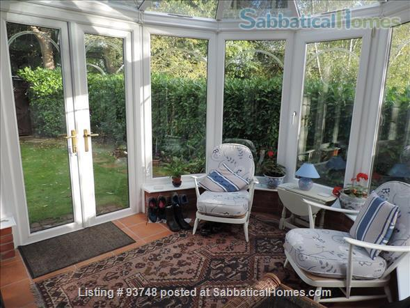 Riverside home in central Oxford with open green views Home Rental in Oxfordshire, England, United Kingdom 0