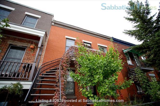 Beautiful Mile End Flat Home Rental in Montréal, Québec, Canada 8