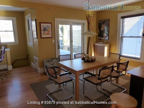 Furnished  3 Bedroom Victorian House next to Harvard  in Agassiz Neighborhood  Home Rental in Cambridge, Massachusetts, United States 2