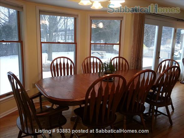 Beautiful Spacious Furnished Home, 4-bdrm, 4300 sq ft, Near Cornell Home Exchange in Ithaca, New York, United States 2