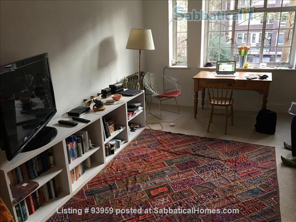 Beautiful studio NW3 Belsize Park Home Rental in London, England, United Kingdom 1
