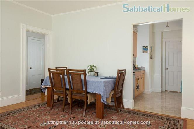 Large condo 2 bd + office, 1.5 bath, parking, fully furnished, WiFi, - close to Harvard Sq.  Home Rental in Cambridge, Massachusetts, United States 0