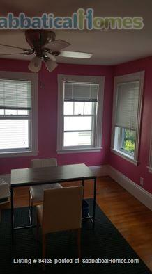 Large condo 2 bd + office, 1.5 bath, parking, fully furnished, WiFi, - close to Harvard Sq.  Home Rental in Cambridge, Massachusetts, United States 5