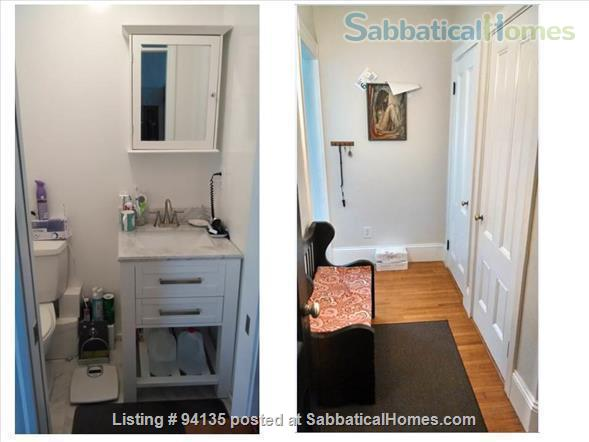 Large condo 2 bd + office, 1.5 bath, parking, fully furnished, WiFi, - close to Harvard Sq.  Home Rental in Cambridge, Massachusetts, United States 7