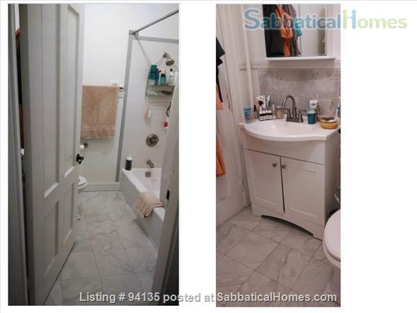 Large condo 2 bd + office, 1.5 bath, parking, fully furnished, WiFi, - close to Harvard Sq.  Home Rental in Cambridge, Massachusetts, United States 8