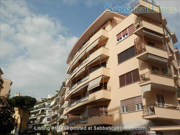 Sunny and confortable flat in the elegant Parioli district Home Rental in Roma, Lazio, Italy 9