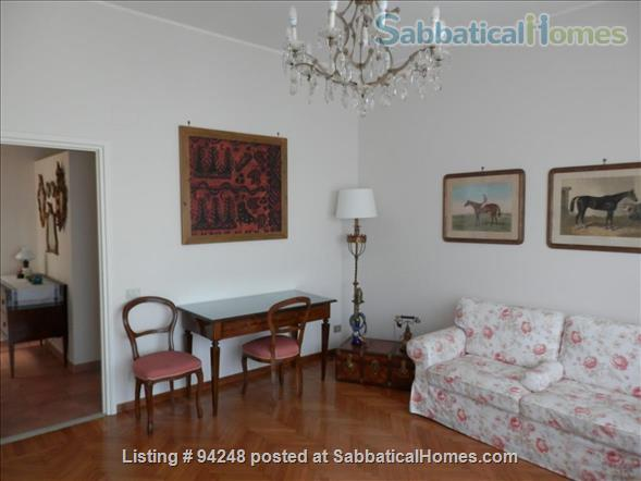 Sunny and confortable flat in the elegant Parioli district Home Rental in Rome, Lazio, Italy 1