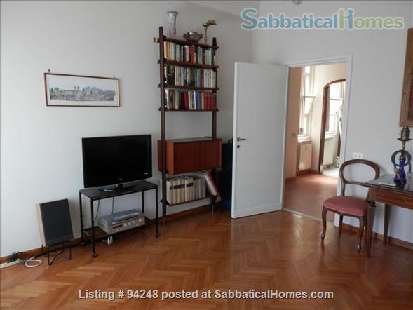 Sunny and confortable flat in the elegant Parioli district Home Rental in Roma, Lazio, Italy 0