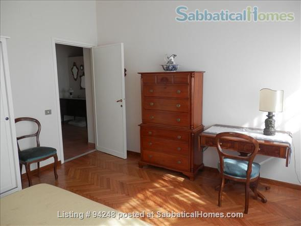 Sunny and confortable flat in the elegant Parioli district Home Rental in Rome, Lazio, Italy 4