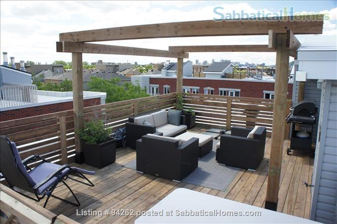 Montréal relaxing and luminous condo with roof terrace Home Exchange in Montreal, Quebec, Canada 9
