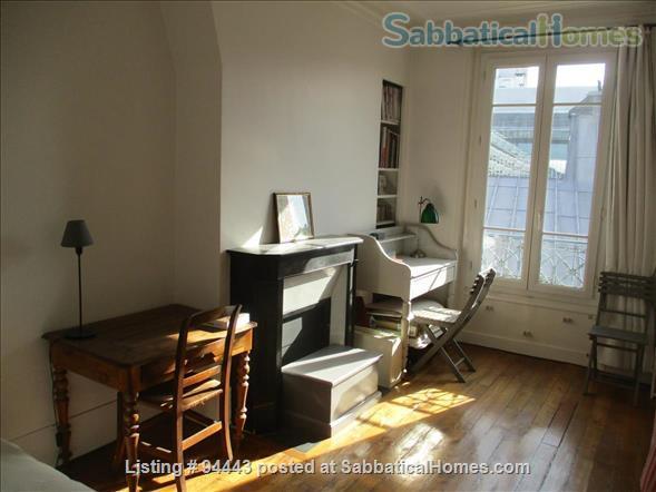 Beautiful and very quiet 120 sq.m duplex  in Latin Quarter ( Paris) Home Exchange in Paris 9
