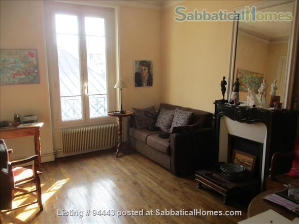 Beautiful and very quiet 120 sq.m duplex  in Latin Quarter ( Paris) Home Exchange in Paris 8