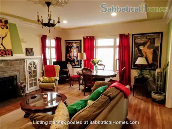 Spacious & Colorful 1 BR Apartment  - College Avenue  Home Rental in Berkeley, California, United States 1